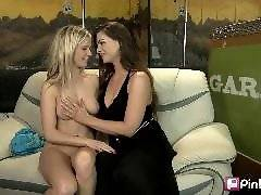 This first time girl on girl action cums complete with one blonde, one brunette, some great ink and a purple dildo. Add to that some moans, groans and