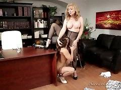 Nina Hartley and Sara Luvv